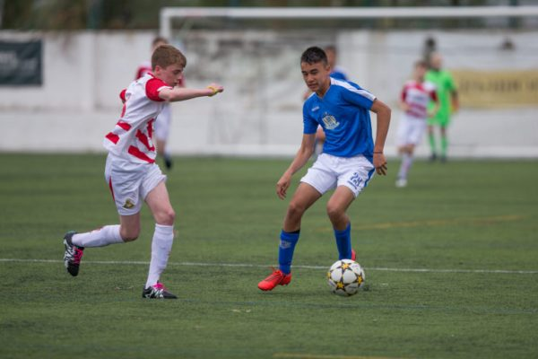 Alexander Adrian Hughes represents Chile U16 and is one of the players who participate at NF Elite Selection U16 at Riga Cup and MIC Football Barcelona. Here pictured at Ibercup Cascais in 2019.