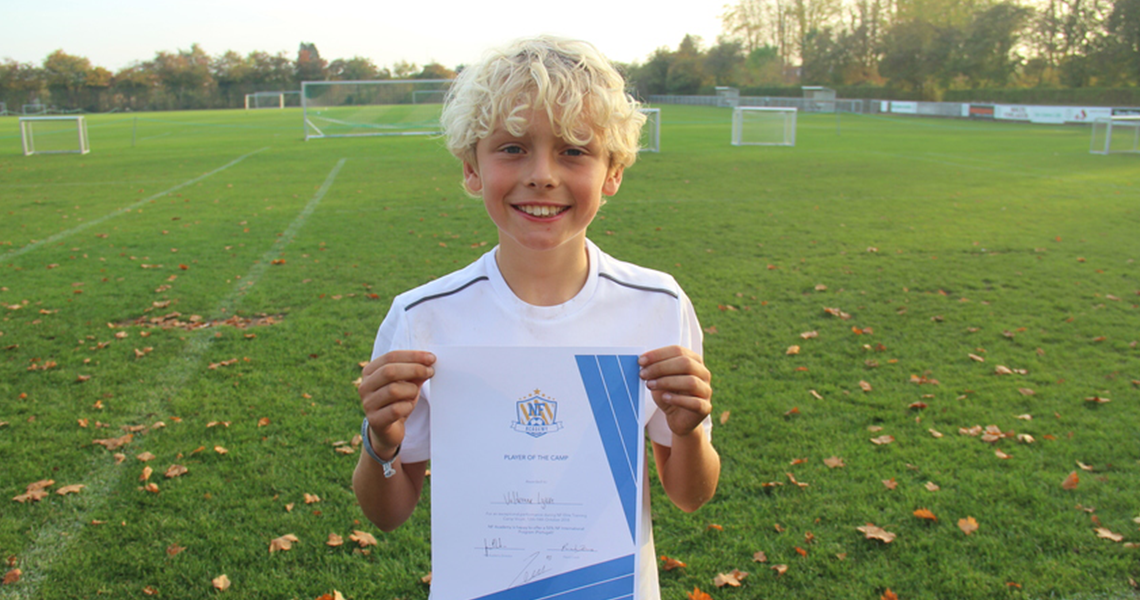 NF Academy Player of the Camp