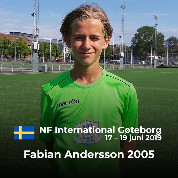NF Academy International Player of the Camp Winner