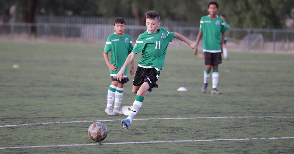 NF Academy Players Road to Sporting CP