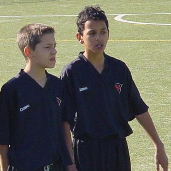 Zeca 14 -vuotiaana Casa Pia AC:n riveissä, joka oli hänen joukkueensa nuoresta aina aikuissarjoihin saakka.